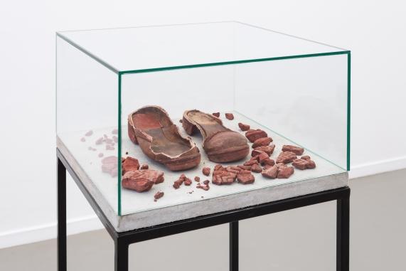 Ariel Reichman, The artist's boots, 2015