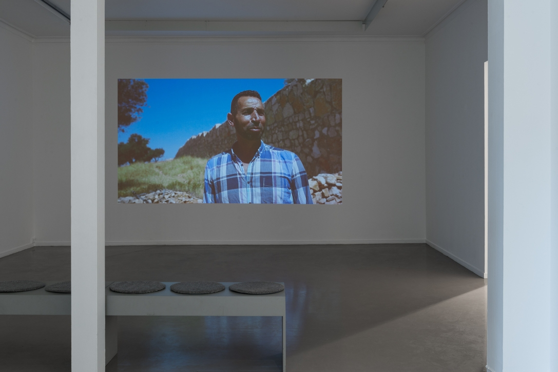 Siri Hermansen, Dreaming in the stonebed valley, installation view