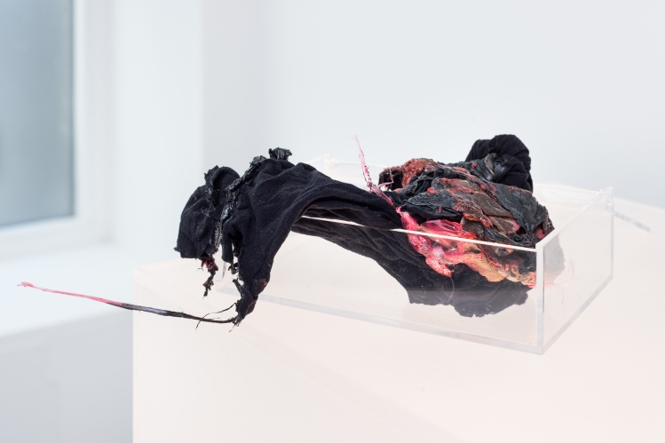 Helle Siljeholm / Looking at chemicals, installation view