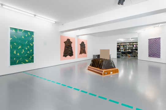 What Remains, installation view