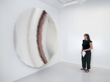Anish Kapoor, Hexagon Mirror (2018)